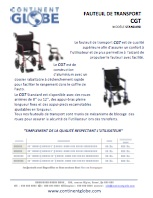 Pamphlet fauteuil transport STANDARD